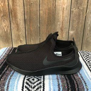 Nike Women's Viale Slip On Shoes Triple Black